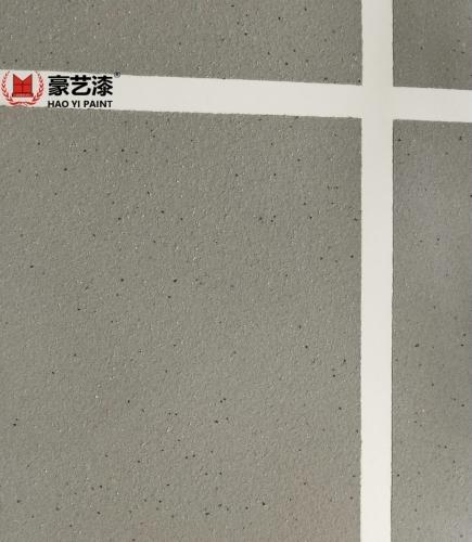 柔性真石漆的防砖效果